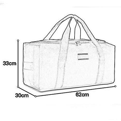Bagagli portatili capacità tela Fdbf in con capacità grande uomo da di grande 14d5wpRq5