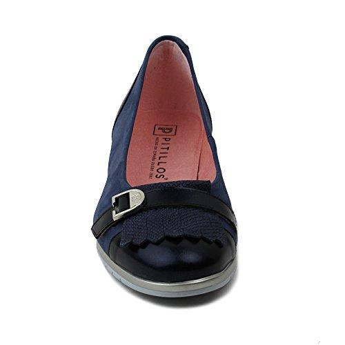 Pitillos Hebilla Flecos Con Zapato 3700 Marino Y Tzn8rTw6