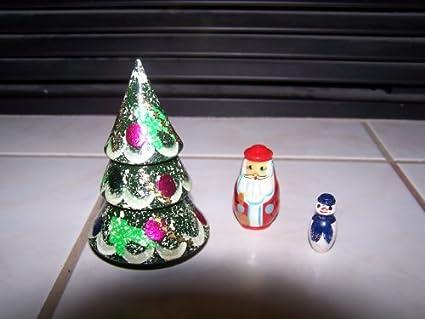 russian nesting dolls christmas treesantasnowman 3pcs4