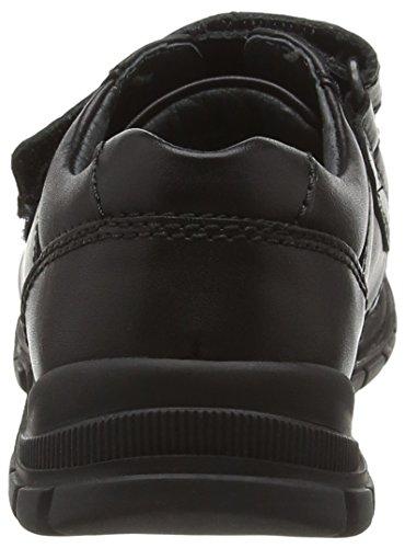 Start Rite Engineer Large, Zapatillas para Niños Negro (Black)