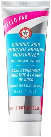 First Aid Beauty Coconut Skin Smoothie Priming Moisturizer, 1.7 Ounce