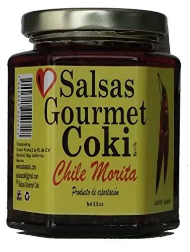 (Salsas Gourmet Coki - Chile Morita Salsa - Net 8.8 oz)