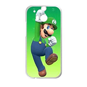 HTC One M8 Cell Phone Case White Mario Party 10 VIU097838