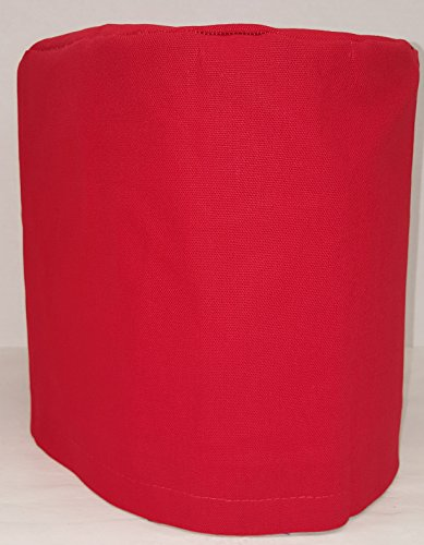 Canvas Food Processor Cover (15 Colors Available) (Large, Red)