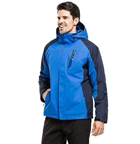colore Giacca Hiking Softshell Giacche Da Impermeabile Sapphire In Inverno Alpinismo Sportivo Pile Abbigliamento Viaggio men Con Camping Unisex X Outdoor Dimensione large Cappuccio 6ATwqtzx