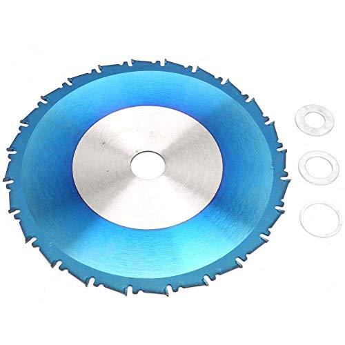 ZJN-JN 切断砥石 角度グラインダー用のブレードディスクを切断ブルーコーティングサーキュラーソーブレードシンカーフ汎用ソーブレードウッド 切断工具