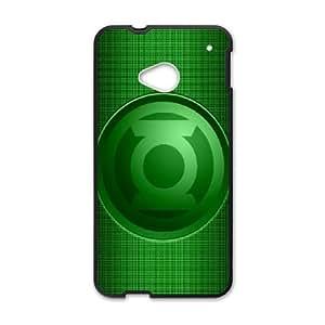 HTC One M7 Cell Phone Case Black Green Lantern PNH