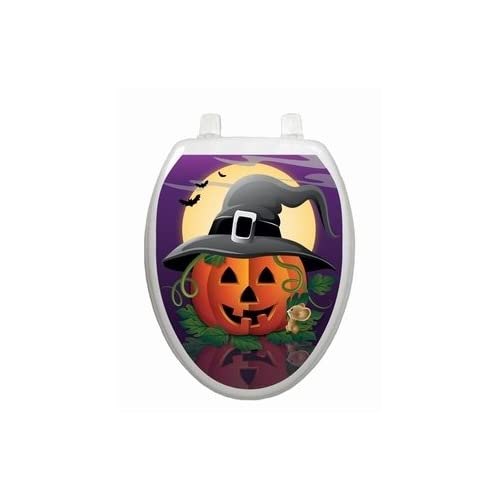 Hallows Eve Toilet Tattoo - Round well-wreapped