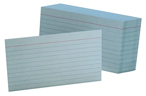 Oxford Colored Index Cards - Oxford Ruled Color Index Cards, 3