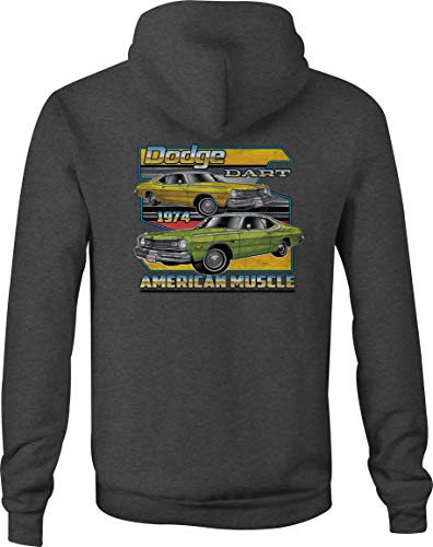 Zip Up Hoodie Dodge Challenger Hooded Sweatshirt for Women - 3XL Gray