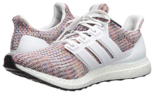 adidas Men's Ultraboost, White/Collegiate Navy, 4 M US by adidas (Image #6)