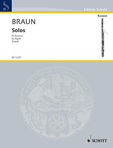 Album Di Assolo (Capek) (Allemand) Partition – 1 janvier 2000 J.d. Braun Schott 0220114293 Musique