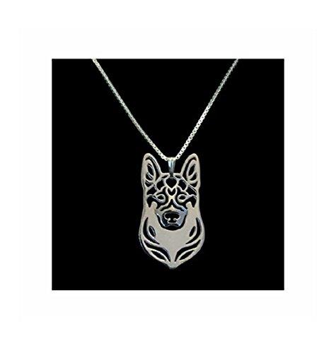 German Shepherd Necklace Pendant -
