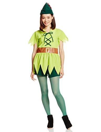 Standard Pan Costumes Peter (Disney Peter Pan Costume Ladies 155cm-165cm)