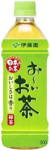 〔飲料〕 伊藤園 お~いお茶 500ml 1ケース (1ケース24本入)(おーいお茶・500PET・ペット、自動販売機可能)