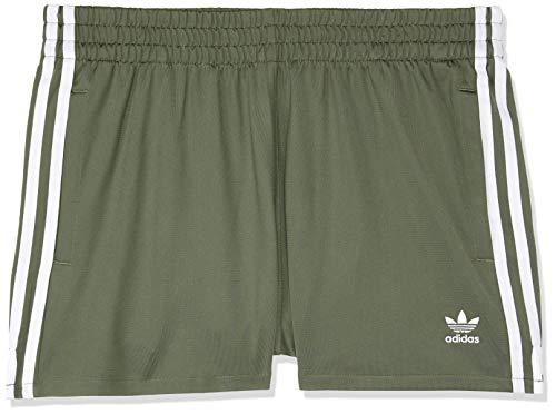 Stripes donna Pantaloncini verdi base 3 da Adidas OwS47qU