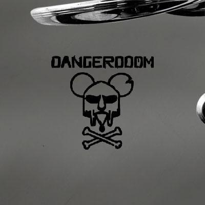 Danger Doom Decor Decoration Mouse Mask Mf Hip-Hop Art Die Cut Adhesive Vinyl Macbook Home Decor Decal Notebook Window Vinyl Car Auto Black - Danger Mouse Mf Doom
