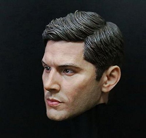 Jensen Ackles Dean Winchester 1/6 Scale Handsome Male Head Carving F 12
