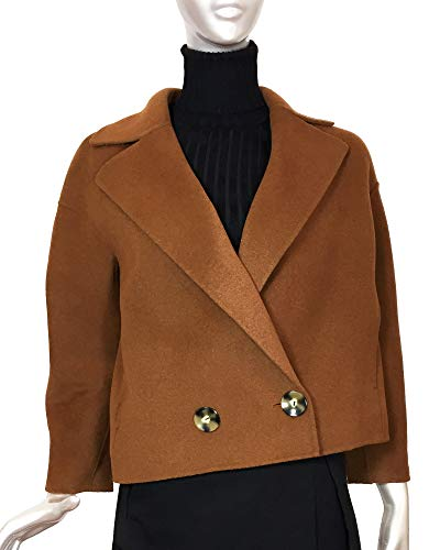 Donna Jacket 791 Double Short Massimo 6491 Dutti breasted Wool TcFK1lJ