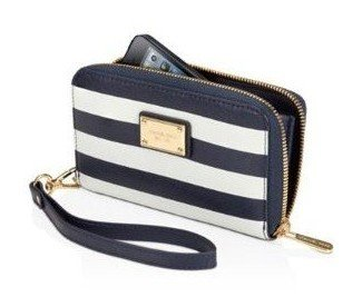 aa6d4e1441b434 Image Unavailable. Image not available for. Colour: Michael Kors Essential  Zip Wallet for Iphone ...