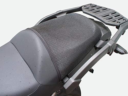 Augusta Seating - TRIBOSEAT Kawasaki VERSYS 1000 (2012-2018) Anti Slip Motorcycle Passenger SEAT Cover Accessory Black