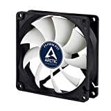 Arctic F9 PWM PST - 92 mm PWM PST Case Fan, Silent Cooler with Standard Case, PST-Port (PWM Sharing Technology), Regulates RPM in sync