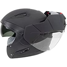 Hawk ST-1197 InFlux Matte Black 2 in 1 Modular Helmet - Large