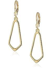 Classics Women's Gold-Tone Open Drop Earrings, Size 0