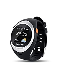 Wrisky Anti-Lost GPS Tracking Watch SmartWatch Wrist SOS Emergency Call For Kids Elder
