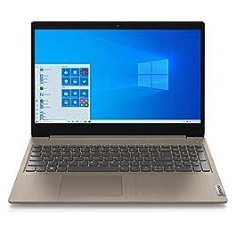 2020 Lenovo Ideapad 3 15.6″ Touchscreen Laptop Computer_ 10th Gen Intel Core i3 1005G1 (Beats i5-7200u)_ 8GB DDR4 RAM, 256GB PCIe SSD_ Almond_ Windows 10_ BROAGE 64GB Flash Stylus_ Online Class Ready