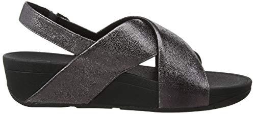 Sandal Punta Metal 054 Lulu Fitflop Con Plateado Mujer Sandalias pewter Abierta Para Molten 7UwYwqtx