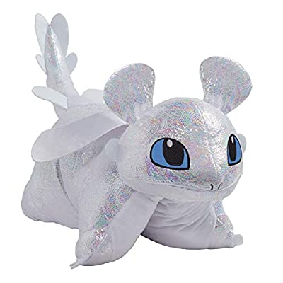 Pillow Pets Nbcuniversal How to Train Your Dragon Light Fury 16