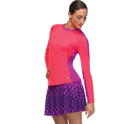 Fila Women's Center Court Printed Skort