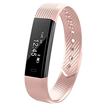 Aubess - Reloj Inteligente para Pulsera de Actividad de natación, podómetro, podómetro, Monitor