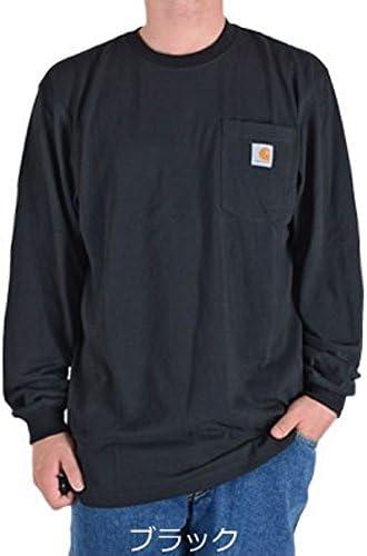 正規品 メンズ 長袖ポケットTシャツ WORKWEAR POCKET LONG-SLEEVE T-SHIRT K126 並行輸入品