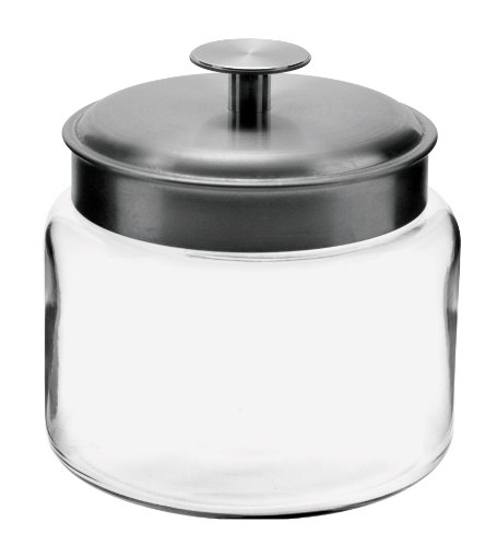 48oz glass jar - 5