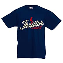 Funny t shirts for kids The Thriller night