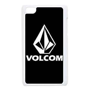 iPod Touch 4 Case White Volcom P8Q2KH
