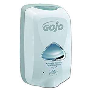 "GOJO 2740-01 Dove Gray TFX Touch Free Dispenser with Matte Finish, 6"" Width x 10.5"" Height x 4"" Depth"