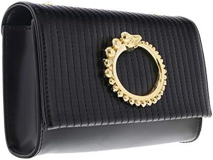 Roberto Cavalli HXLPGP 999 Black Shoulder Bag for Womens