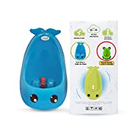 Joy Baby Generation II Boy Urinal Potty Toilet Training with FREE Potty Train...