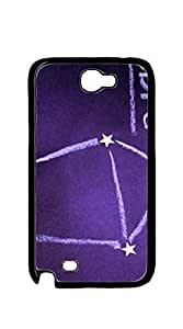 TUTU158600 Hard Plastic and Aluminum Back case for samsung galaxy note2 for men - Constellation activities
