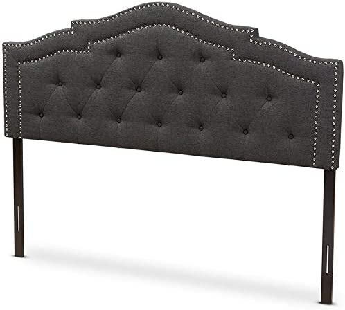 Baxton Studio Edith Tufted Queen Panel Headboard