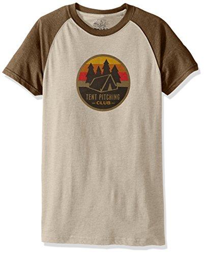 Price comparison product image prAna Men's Tent Pitch Club Raglan T-Shirt,  X-Large