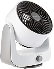Mistral MHV90 High Velocity Power Fan, 8 inches, White