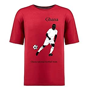 Custom Mens Cotton Short Sleeve Round Neck T-shirt,2014 Brazil FIFA World Cup teams red