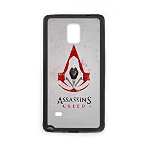 Samsung Galaxy Note 4 Cell Phone Case Black Assassins Creed Artwork BNY_6777226