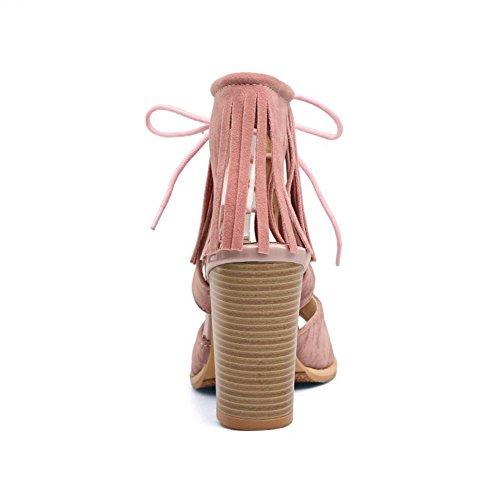 Sandalias Pink Big Gladiator Zanpa Clasico Mujer Tamanos fwxAgg4q