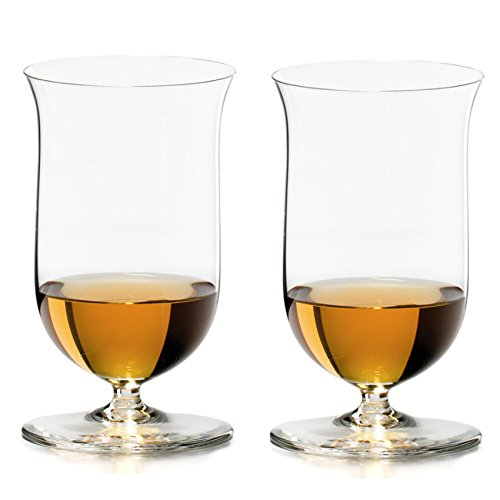 Riedel Sommeliers Leaded Crystal Single Malt Whiskey Glass, Set of 2 Sommeliers Single