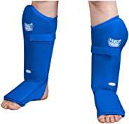Combat Sports Breathable Slip-On MMA Shin Instep Guards